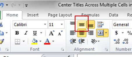 how to make several excel cells 1 cell