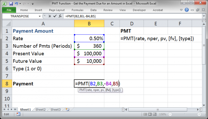 how to put negatives in excel