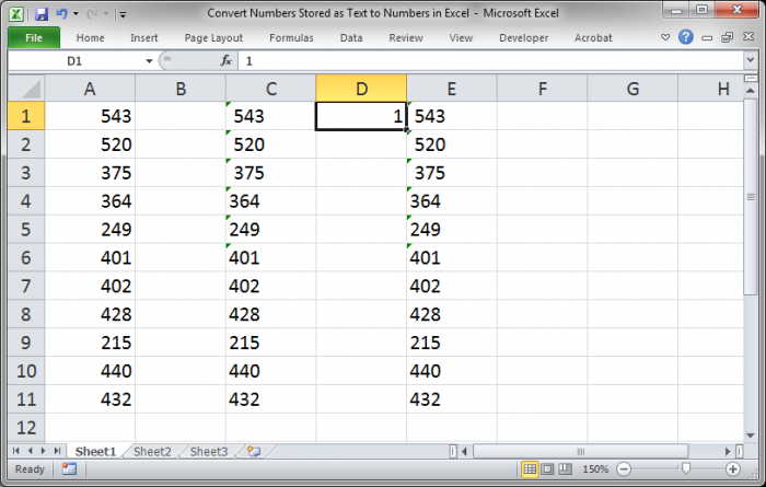 how to delete all numbers in cells in excel