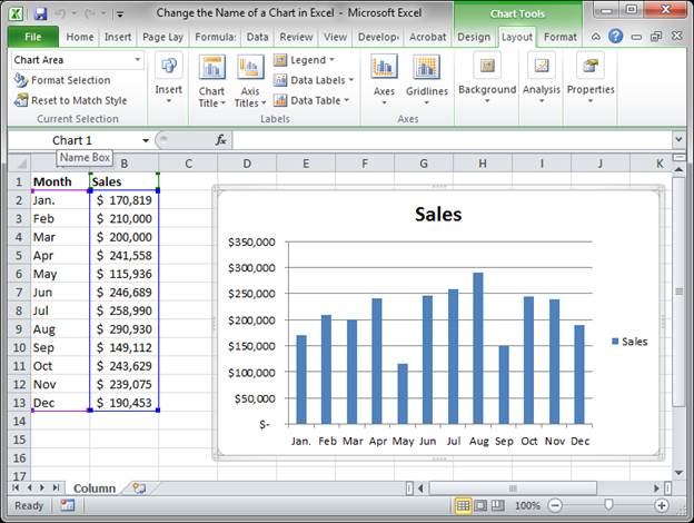 how to change the name of the worksheet in excel