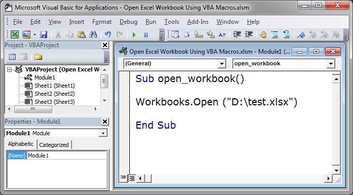 Open excel workbook using vba macros teachexcel 40aec2674726d1416929d4a4bb8977b3g ibookread ePUb