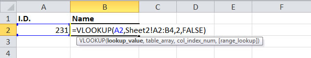 How to use Vlookup Across Multiple Worksheets in Excel – Vlookup Across Multiple Worksheets