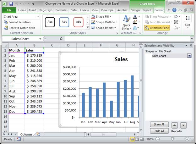 excel how to change legend name