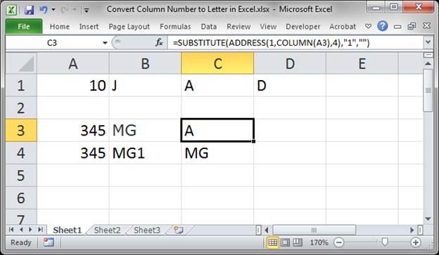 Excel Vba Get Column Letter From Named Range