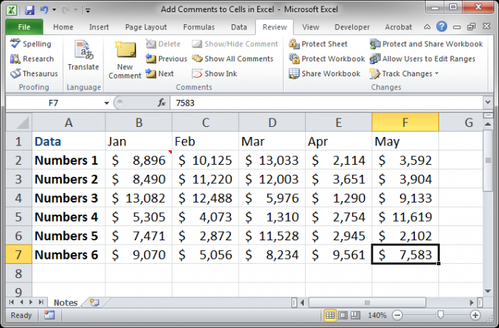 how to progressively add cells in excel
