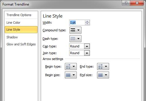 how to add 2 trendlines on excel