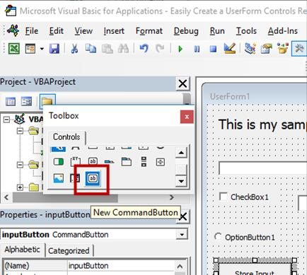 Create UserForm Control Templates - TeachExcel com
